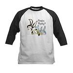 Funny Rabbits Kids Baseball Jersey
