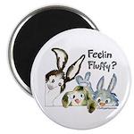 Funny Rabbits Magnet