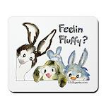 Funny Rabbits Mousepad