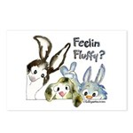 Funny Rabbits Postcards (Package of 8)