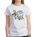 Funny Rabbits Women's T-Shirt