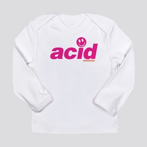 Pink Acid Long Sleeve Infant T-Shirt