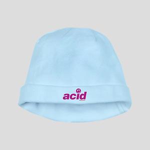Pink Acid baby hat