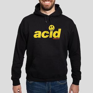 Acid Smiley Hoodie (dark)