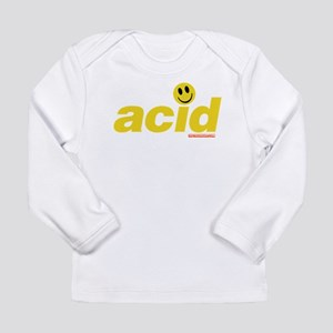 Acid Smiley Long Sleeve Infant T-Shirt