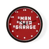 Garage Wall Clocks