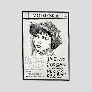 Jackie Coogan Peck's Bad Boy Rectangle Magnet