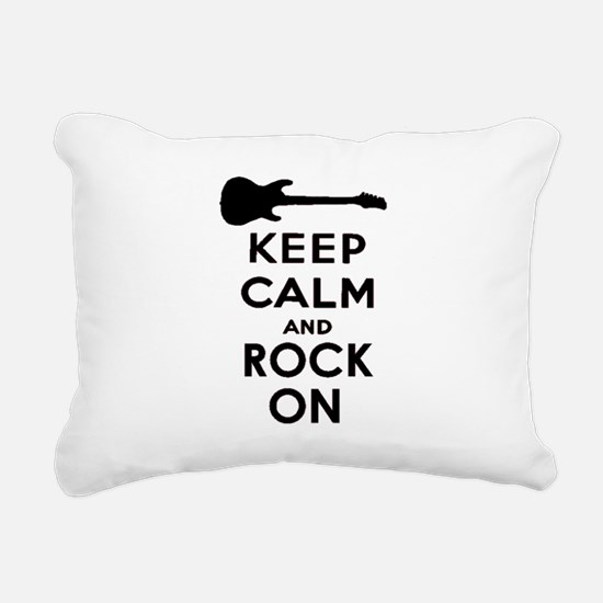 ROCK ON Rectangular Canvas Pillow