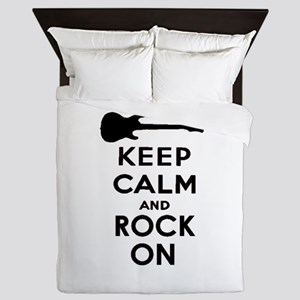 ROCK ON Queen Duvet