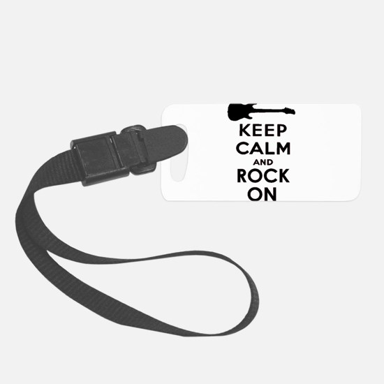 ROCK ON Luggage Tag