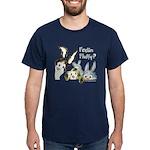 Funny Rabbits Dark T-Shirt