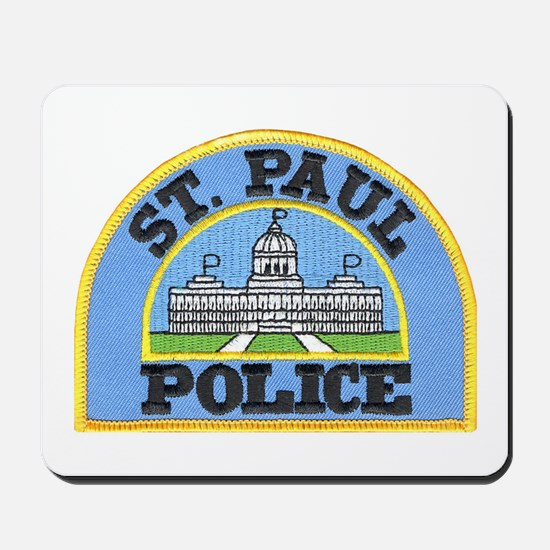 Saint Paul Police Mousepad