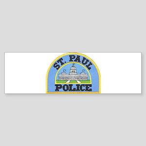 Saint Paul Police Bumper Sticker