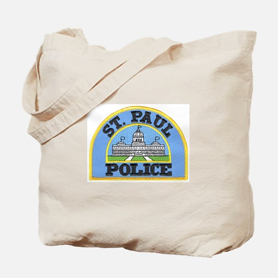 Saint Paul Police Tote Bag