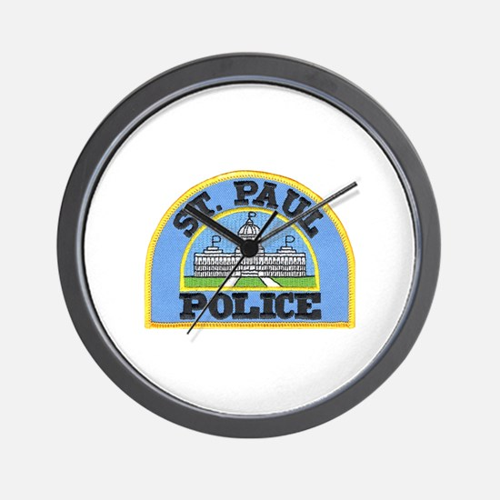Saint Paul Police Wall Clock