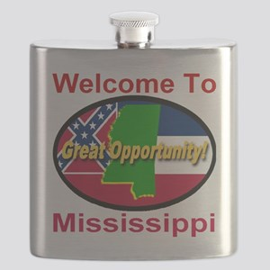Welcome to Mississippi Great Opportunity Flask