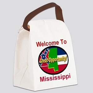 Welcome to Mississippi Great Oppo Canvas Lunch Bag
