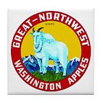 Great-Northwest Brand Tile Coaster
