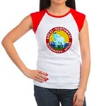Great-Northwest Brand Women's Cap Sleeve T-Shirt