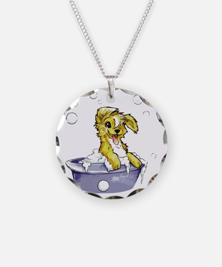Doggie Dog Wash Necklace