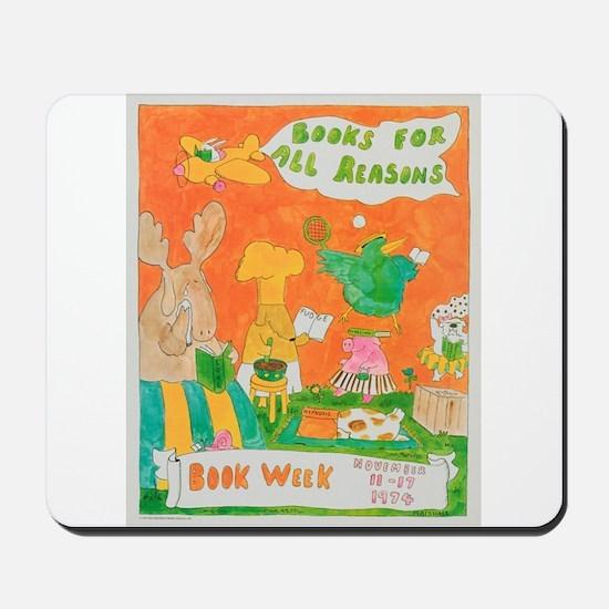 1974 Children's Book Week Mousepad