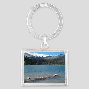 Serenity Landscape Keychain