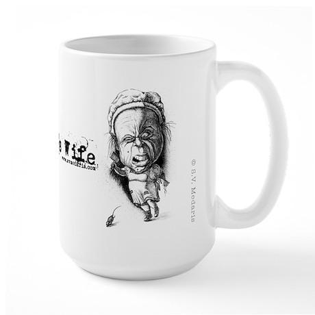 The Farmer's Wife Large Mug
