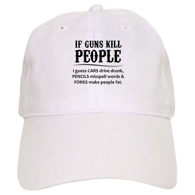 b8a92f229de77 If Guns Kill People Baseball Baseball Cap by giftsfor