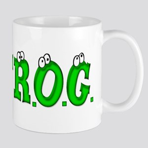F.R.O.G. (Fully Rely On God) Mug
