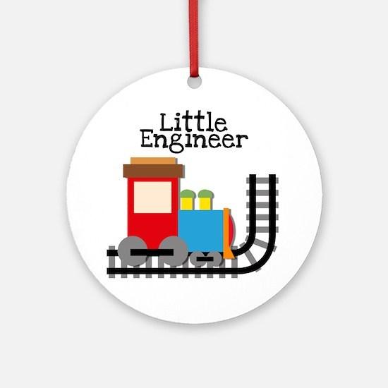 Little Engineer Round Ornament
