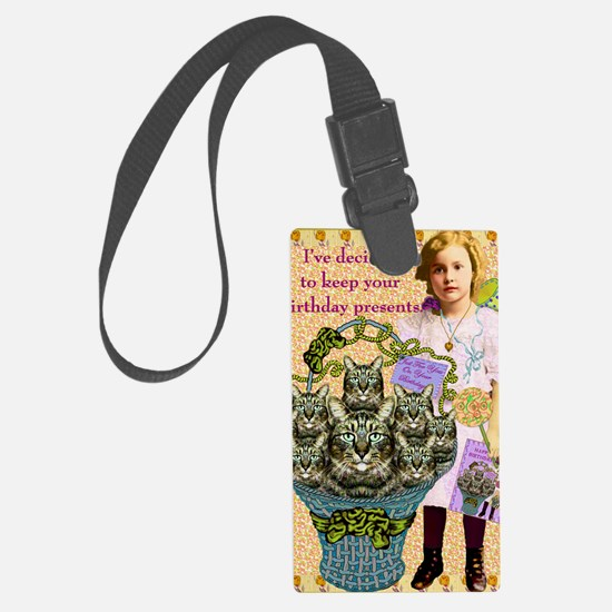 Good Intentions Luggage Tag