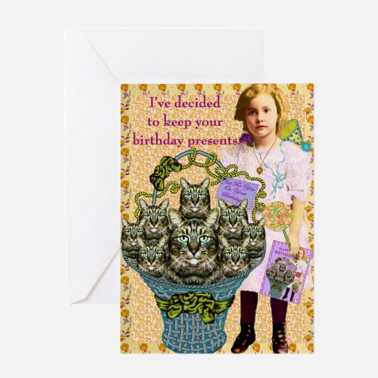 Good Intentions Greeting Card