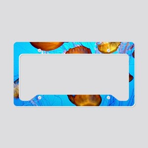 Jellyfish marmalade License Plate Holder