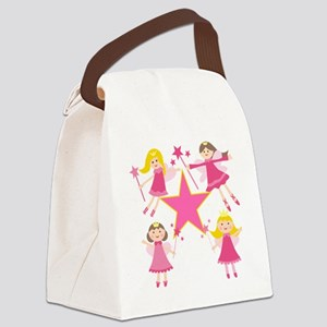 Fairy Princesses Canvas Lunch Bag