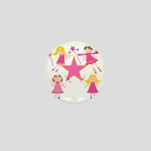 Fairy Princesses Mini Button