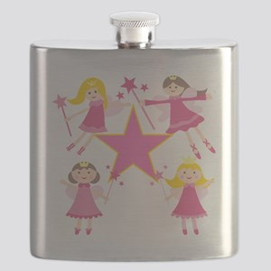 Fairy Princesses Flask