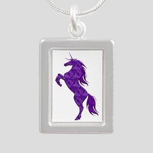 Purple Unicorn Necklaces
