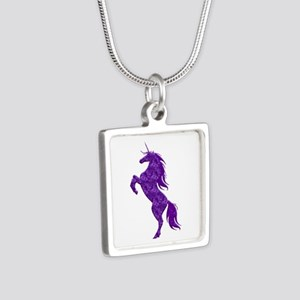 Purple Unicorn Necklaces