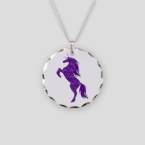 Purple Unicorn Necklace