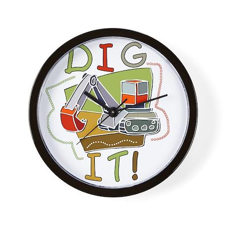 Dig It Wall Clock