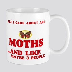All I care about are Moths Mugs