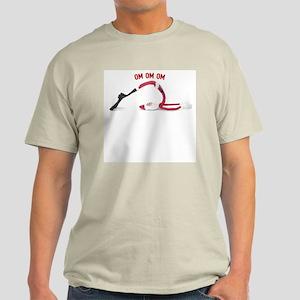 Yoga Santa Plow Light T-Shirt
