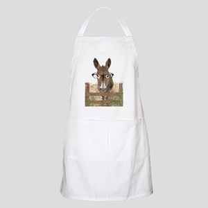 Humorous Smart Ass Donkey Painting Apron