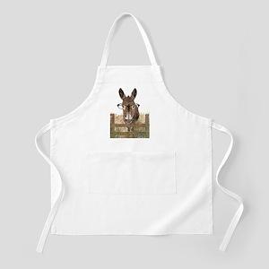 Humorous Smart Ass Donkey Painting Apron