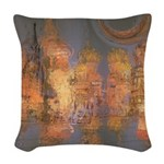 Expansion Night Sky Woven Throw Pillow