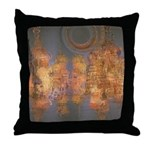 Expansion Night Sky Throw Pillow