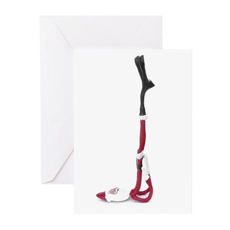Shoulder Stand Xmas Cards (Pk of 10)