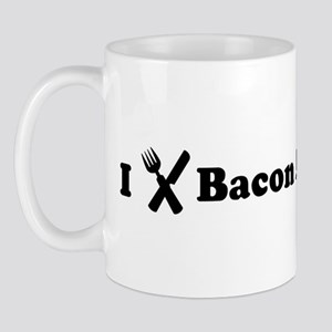 I Eat Bacon And Eggs Mug