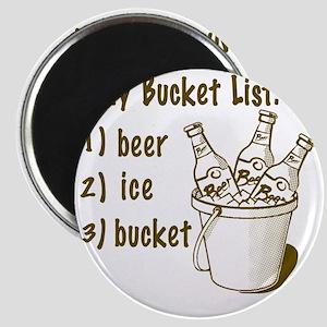 My Beer Bucket List Magnet