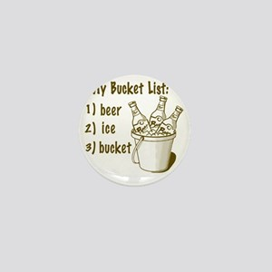 My Beer Bucket List Mini Button